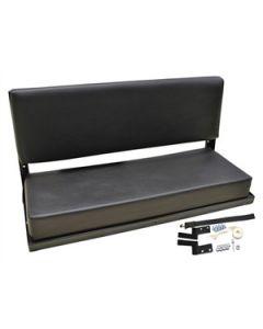 Rear Bench Seat - Black | Defender - Series